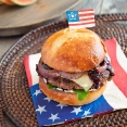 The Red White & Blue Burger July 2011 & 2012