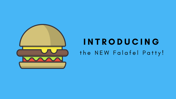 Introducing Blue Moon's New Falafel Patty